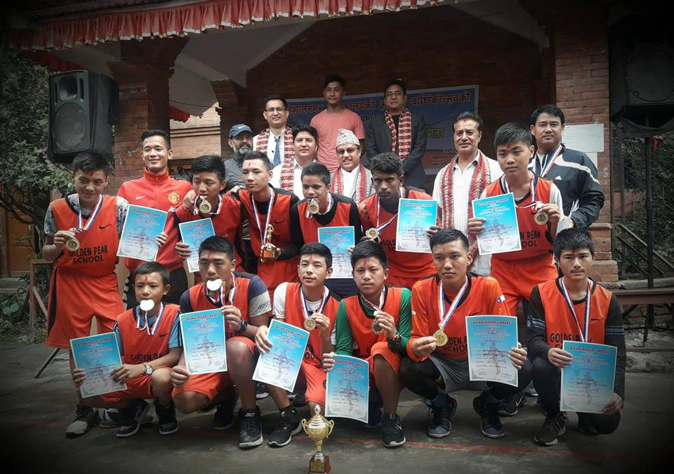 WINNERS OF INTER SCHOOL BASKETBALL TOURNAMENT
