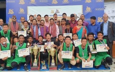 8th GPHS Inter school basketball tournament, Who were the best this season ??