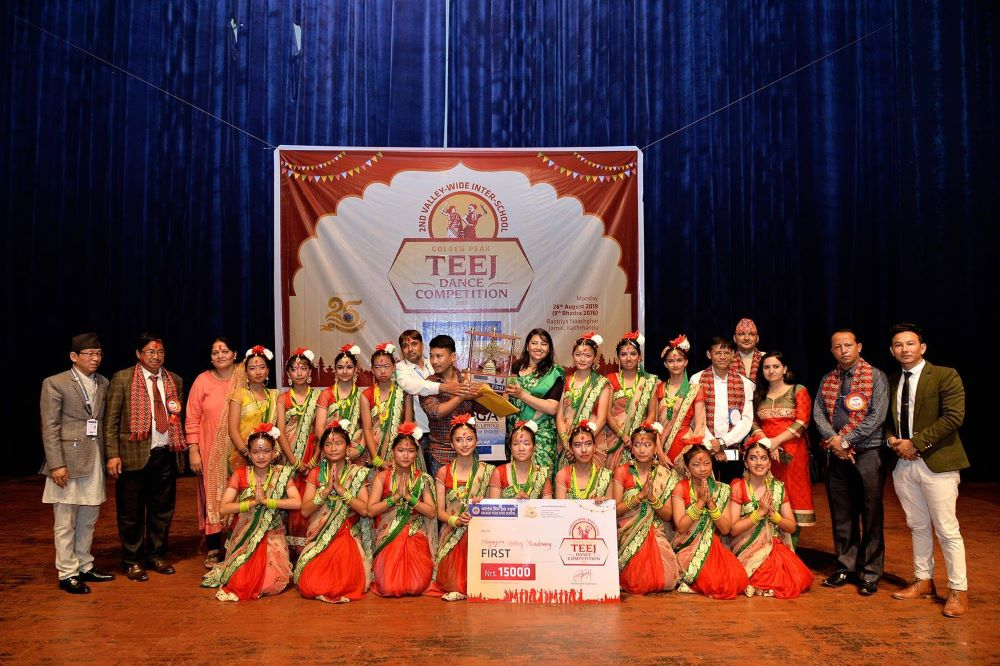 Second Valley-Wide Golden Peak Teej Dance Competition-2076